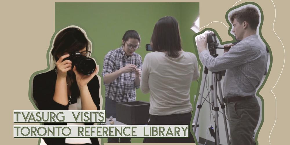 TVASURG visits Toronto Reference Library