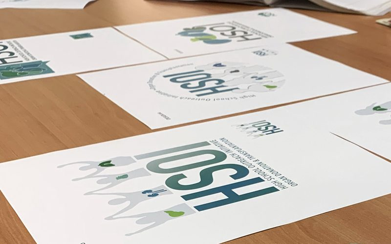 Designing a logo for High School Outreach Initiative (HSOI)