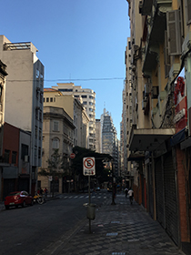Sáo Paulo downtown
