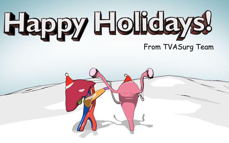 Happy holidays from TVASurg!